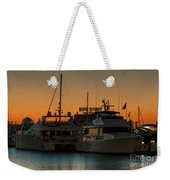 Baltimore Inner Harbor Marina At Dawn I Weekender Tote Bag