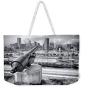 Baltimore Inner Harbor Skyline Weekender Tote Bag