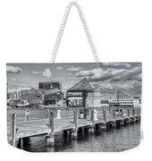 Baltimore Inner Harbor Skyline Vi Weekender Tote Bag