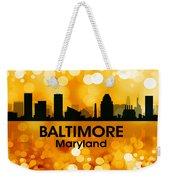 Baltimore Md 3 Weekender Tote Bag