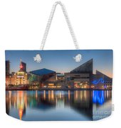 Baltimore National Aquarium At Dawn I Weekender Tote Bag