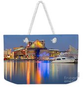Baltimore National Aquarium At Twilight I Weekender Tote Bag