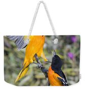 Baltimore Orioles Weekender Tote Bag
