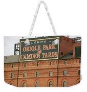 Baltimore Orioles Park At Camden Yards Weekender Tote Bag