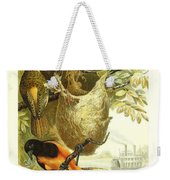 Baltimore Orioles Weekender Tote Bag by Philip Ralley