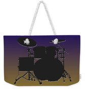 Baltimore Ravens Drum Set Weekender Tote Bag