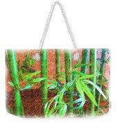 Bamboo #1 Weekender Tote Bag