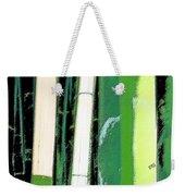 Bamboo Abstraction Weekender Tote Bag
