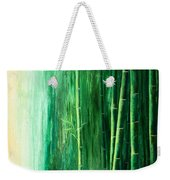 Bamboo Forest Weekender Tote Bag