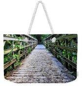 Bamboo Forest Bridge Weekender Tote Bag