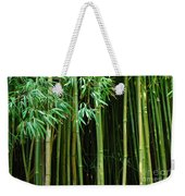 Bamboo Forest Maui Weekender Tote Bag