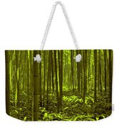 Bamboo Forest Twilight  Weekender Tote Bag