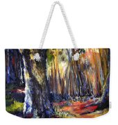Bamboo Garden With Bunny Weekender Tote Bag