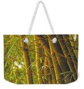 Bamboo Gold Weekender Tote Bag