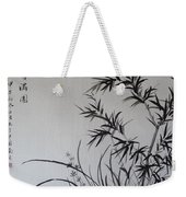 Bamboo Impression Weekender Tote Bag