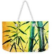 Bamboo Magic Weekender Tote Bag by Nirdesha Munasinghe