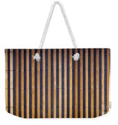 Bamboo Mat Texture Weekender Tote Bag by Tim Hester