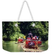 Bamboo River Rafting Weekender Tote Bag