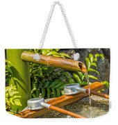 Bamboo Spout Weekender Tote Bag