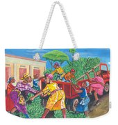 Banana Delivery In Cameroon 01 Weekender Tote Bag