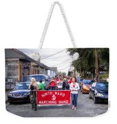 Band Practice In The Bywater Weekender Tote Bag