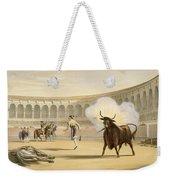 Banderillas De Fuego, 1865 Weekender Tote Bag