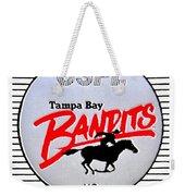 Bandit Ball Weekender Tote Bag by Benjamin Yeager