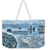 Bandon Beach Scatter Weekender Tote Bag