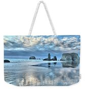 Bandon Sea Stack Reflections Weekender Tote Bag