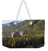 Banff Fairmont Springs Hotel Weekender Tote Bag