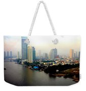 Bangkok In Early Morning Light Weekender Tote Bag