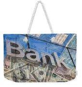 Bank Weekender Tote Bag