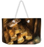 Banker - My Precious  Weekender Tote Bag by Mike Savad
