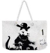 Banksy Boombox  Weekender Tote Bag