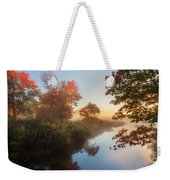 Bantam River Sunrise Weekender Tote Bag by Bill Wakeley