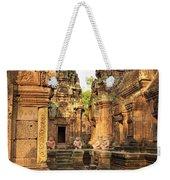 Banteay Srei, Cambodia Weekender Tote Bag