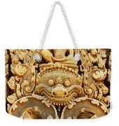 Banteay Srei Carving 01 Weekender Tote Bag