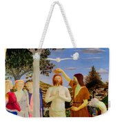 Baptism Of Christ - Oil On Canvas Weekender Tote Bag
