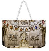 Baptistry At Saint John The Divine Cathedral Weekender Tote Bag