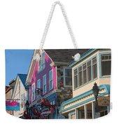 Bar Harbor Downtown  Weekender Tote Bag