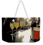 Bar Scene - Absinthe At Pirates Alley Weekender Tote Bag