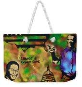 Barack And Sam Cooke Weekender Tote Bag