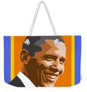 Barack Weekender Tote Bag