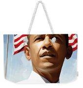 Barack Obama Artwork 1 Weekender Tote Bag