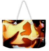 Barack Obama Weekender Tote Bag by Daniel Janda