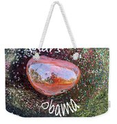 Barack Obama Mars Weekender Tote Bag