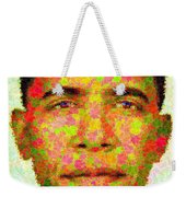 Barack Obama - Maple Leaves Weekender Tote Bag