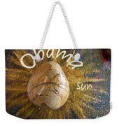 Barack Obama Sun Weekender Tote Bag by Augusta Stylianou