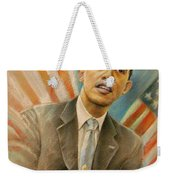 Barack Obama Taking It Easy Weekender Tote Bag