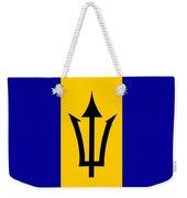 Barbados Flag  Weekender Tote Bag